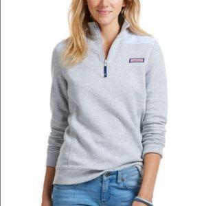 VV Shep Shirt blue and white striped shoulders